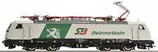 "Roco 73633 piste h0 E-Lok BR 189 822-0 ""steiermarkbahn"" des stlb EP. vi NEUF dans emballage d'origine"
