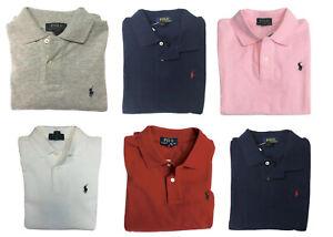 POLO RALPH LAUREN Boys Shirt Short Sleeve Mesh Top Size 10-12 Medium