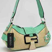 GUESS AUTHENTIC WESTERN MINT MULTI SHOULDER BAG HANDBAG PURSE NWT