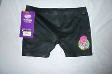 New Girls Medium Shimmer and Shine Panties 2 pack Boyshorts Black and White