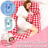 ❤️ G Shape Pregnancy Support Pillow Nursing Sleeping Full Body Pillows Maternity