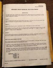 Galion Shop Manual Grader, Crane