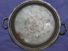 1940 Hand made tinned copper baking dish
