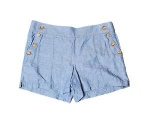 Women's - Ann Taylor Loft Riviera Linen Blend Shorts, Size 4