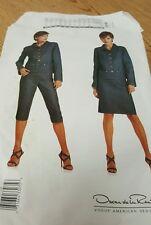 Sewing Pattern Vogue American 2518 Oscar de la Renta Jacket Pants Skirt 12-14-16