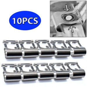 10X Windscreen Wiper Linkage Motor Rods Repair Clip Kit For Toyota Ford Chevy
