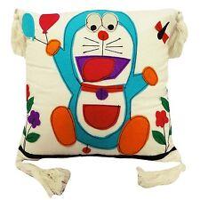 Taie d'oreiller en coton 16'' patchwork Doraemon enfants dessin animé oreiller