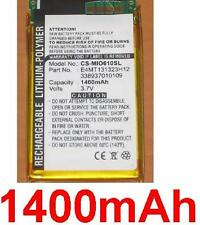 Battery 1400mAh type 338937010109 E4MT131323H12 For Mitac Mio H610