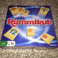 Sealed in Box The Original Rummikub: The Fast Moving Rummy Tile Game!