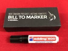 Bill To Marker by Nicholas Einhorn. Retails $69.95