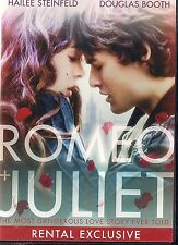 ROMEO & JULIET (DVD, 2014) RENTAL EXCLUSIVE