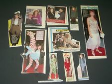 SET OF MAGAZINE CLIPPINGS Amy Yasbeck wings tv show mrs. john ritter