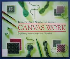 CANVAS WORK - RD Needlecraft Guides