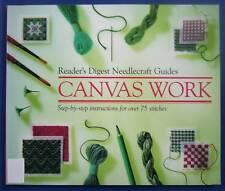 CANVAS WORK - RD Needlecraft Guides