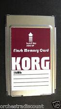 KORG Flash Memory Card 16 MB Pa80 Pa60 Pa50 New High Quality Made in USA No Tax