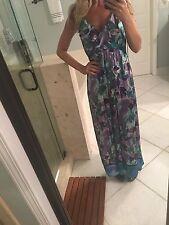 Hale Bob For Pea In The Pod Dress Long Maxi Dress Stunning M