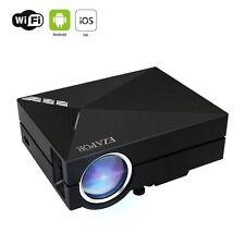 Wireless Display Mini Projector GM60A WIFI 130 Inch Screen 800x480 1000 Lumen
