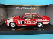 Opel Ascona 400 Bastos #10 Colsoul Rally Monte Carlo 1982 1/18 Sunstar 5363