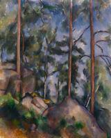 Landscape Trees Road Art Oregon Pines by Theodore C Steele 8x10 Print 0554