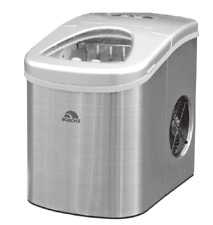 Igloo ICE117-SS Compact Ice Maker - Stainless Steel