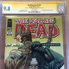 Walking Dead #92 CGC 9.8 SS Kirkman Adlard Jesus 8 1 91 93 19 108 10 27 2 100 3