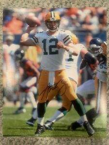 Aaron Rodgers Green Bay Packers autographed 8x10 photo COA