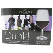 Dartington Crystal Drink! Red Wine Glass Set 6 Pack