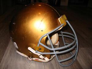 NOTRE DAME FIGHTING IRISH football helmet- AUTHENTIC game-used