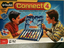 U-BUILD CONNECT 4 Game ~ NEW ~ Sealed ~ Milton Bradley / Hasbro Games