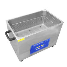 NEW 30L / 8 Gallon 1100W Ultrasonic Cleaner Commerical Carb Carburetor w/ Basket