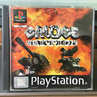 GRUDGE WARRIORS Playstation 1 PS1 Pal Game with Box Instructions