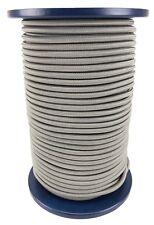 12mm Grey Elastic Bungee Rope x 20 Metres Shock Cord Tie Down