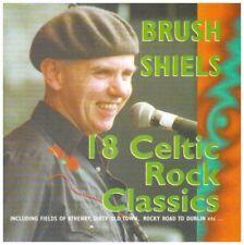 BRUSH SHIELS - 18 CELTIC ROCK CLASSICS (Ex-member of Skid Row Ireland) CD