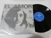 """EL AMOR SIEMPRE INSTITUTO CUBANO BENNY MORE BURKE LP 12"""" VINYL VINILO VG/VG"""