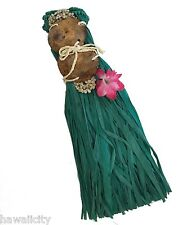 Hawaii Hula Girl Costume with Raffia Skirt and Coconut Top - TODDLER