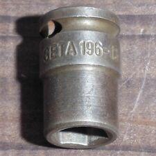 """GETA P196-13 3/8"""" - 13 mm Steckschlüssel - Einsatz sehr Stabil / Nuss / Ratsche"""