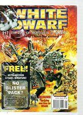 January White Dwarf Game & Puzzle Magazines