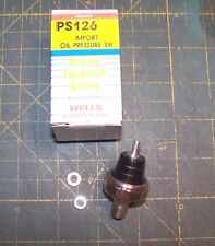 Wells PS126 Engine Oil Pressure Switch for Light