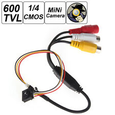 "600TVL 5MP 1/4"" CMOS Small Size Smallest Button CCTV Mini Audio Video Camera"