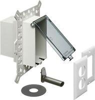 ARLINGTON IN BOX Weatherproof-In-Use Recessed Electrical Box (ModelDBVM1C) 4pk