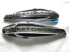 Harley Davidson Réservoir Emblèmes tankschilder tankembleme Chrome 14100062 & 14100063