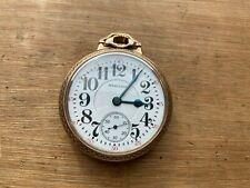 Grade Pocket Watch, 10K Hamilton Case Hamilton 992 16s 21 Jewel Railroad