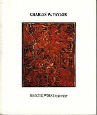 Charles W Taylor Selected Works 1955-1997 Gurdjieff Kabbalah Art Catalog