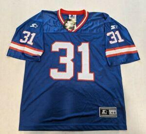 NWT VTG 1998 Starter NY Giants Jason Sehorn #31 Football Jersey Youth Sz L 14-16