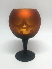 Yankee Candle Pumpkin Mercury Glass Candle Holder