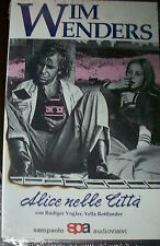 "WIM WENDERS ""Alice nelle città"" VHS"