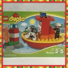 NEW (NOS) RETIRED 2012 LEGO DUPLO FIRE BOAT #10591 IN ORIGINAL UNOPENED BOX