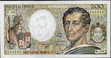 200 Francs MONTESQUIEU,1994,Alpha M.168;Fay 70/2/2,NEUF,RARE