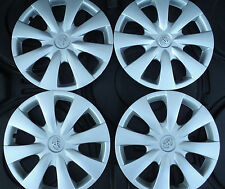 "FOUR 15"" TOYOTA COROLLA 07 08 09 10 11 12 13  HUBCAPS    WHEEL COVERS RIM COVERS"