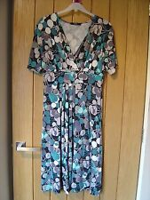 M & S Blue Dress Size 8 (Ref P) Excellent Condition
